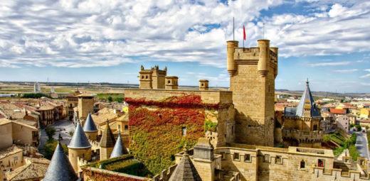 Castillo de Olite turismo Navarra