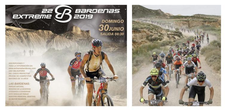 Extreme Bardenas 2019, carrera BTT en Navarra