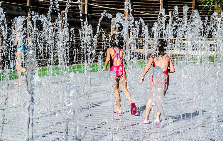 Laberinto de agua Senda Viva