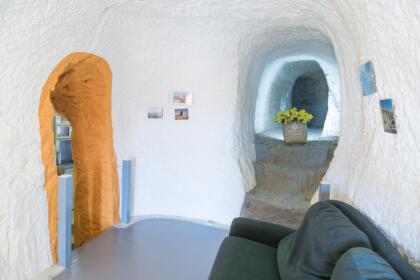 Cueva alcaravan bardenas