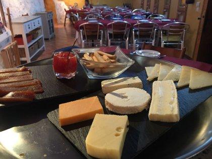 Especialidad en tablas de quesos
