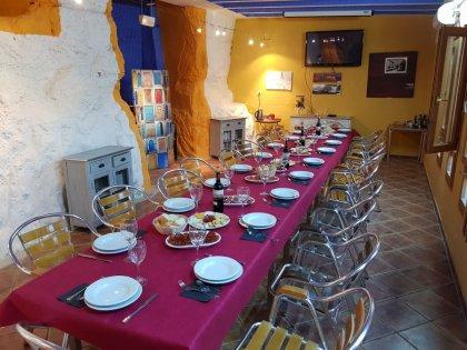 Comedor Bar Cueva en Las Bardenas
