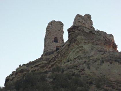 El castillo donde estuvo recluida Blanca de Navarra