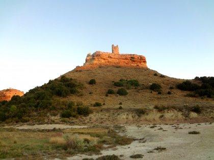 Castillo de Peñaflor en el vedado de Eguaras