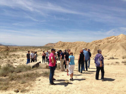 Excursion grupo bardenas