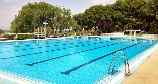 Swimming pools and sports facilities in Valtierra