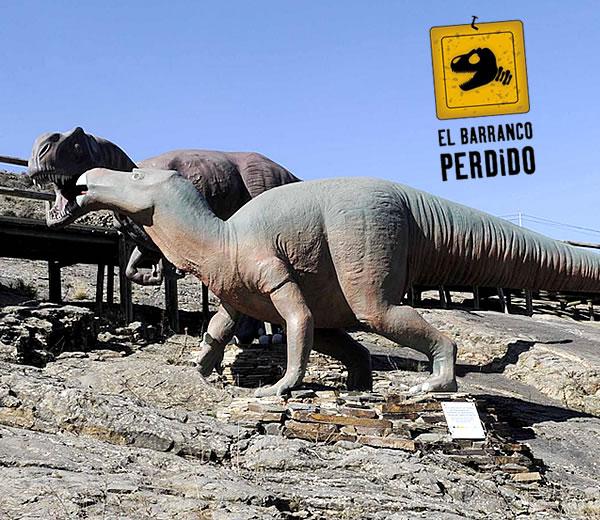 Museo de los dinosaurios barranco perdido