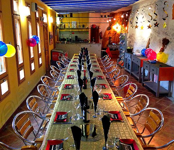 Bar cueva de nuestro Hotel en Bardenas