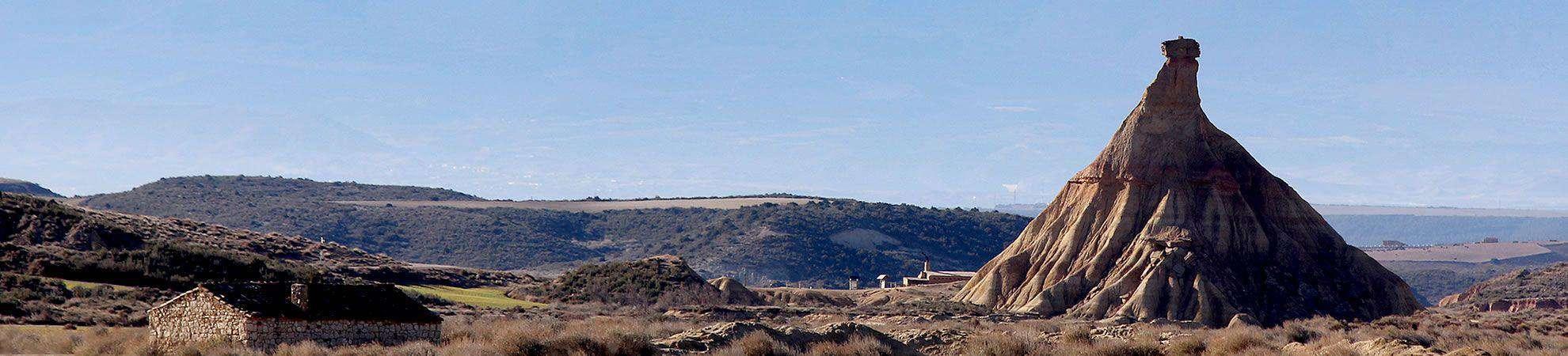 Paseos por las bardenas de Navarra